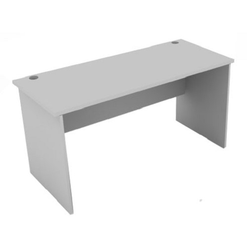 SPAZIO Office Desk [WT-1200-60] - Light Grey - Meja Kantor